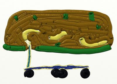 Serpiente del Jardín Botánico